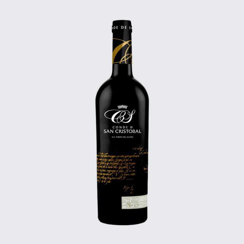 Vino tinto San Cristóbal