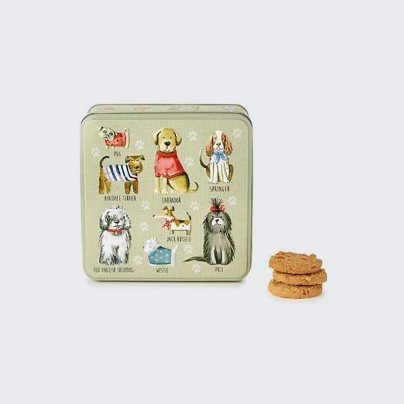 Caja galletas deco perros