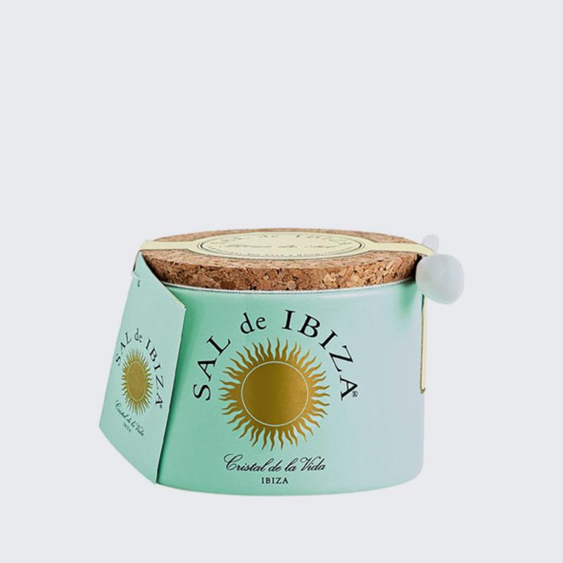 Tarro de cerámica Flor de sal de ibiza